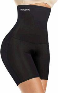 "Burvogue Shapewear for Women Tummy, Black, Size XXL(Waist 33.5""-35"") l9eQ"