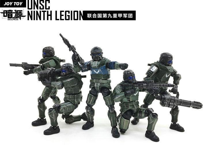 JoyToy Dark Source UNSC 9 Legion 7.6cm Five Figures Set