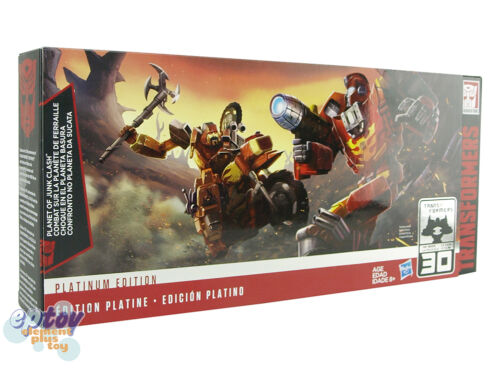 Transformers Planet of Junk Clash Hot Rod Wreck-Gar Junkion Scrapheap