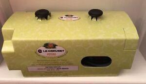 Le Creuset Poterie- 2 Soup Bowls with Lids -Shiny Black (BNIB)   eBay