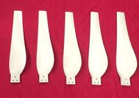 Hurricane Stealth Storm Wind Turbine Generator Blades Set Of 5 32 Inch Set