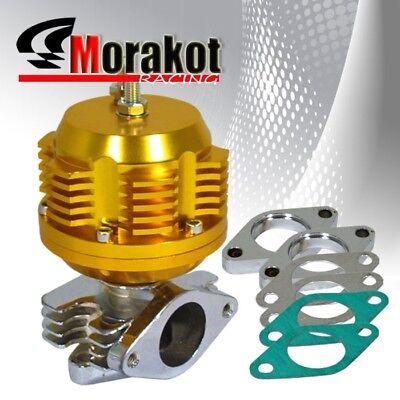 Universal 35mm//38mm 2 Bolt Flange Turbo Boost Manifold External Wastegate Gold