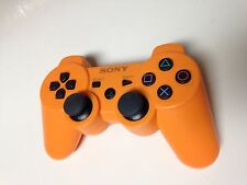 Official SONY Playstation 3 Controller for PS3 Orange Dual Shock Wireless
