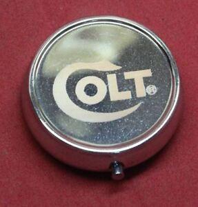 COLT Firearms Pill Box Tin