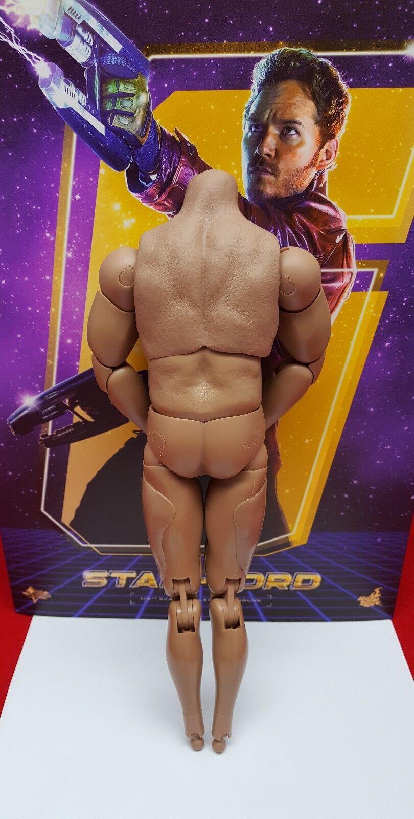 Caliente giocattoli MMS255 Guardians Galaxy estrella LORD azione cifra cifra cifra 1 6 scale corpo only   a2ebbf