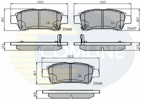/> 08 híbrido gasolina H1 Comline Pastillas de Freno Trasero Para Toyota Alphard I 2.4 3.0 03