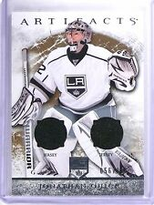 2012-13 UD Artifacts Materials Silver Jonathan Quick Jersey #D056/125 #113 *6333