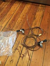 NOS Suntour Mighty Thumb Shifter Set-Breezer -Retro ATB W/ Cables & Housing