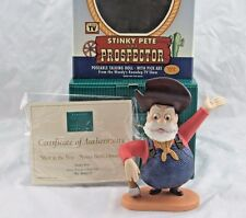 "WDCC ""Mint in the Box - Never Been Opened"" Stinky Pete from Toy Story 2, Box COA"