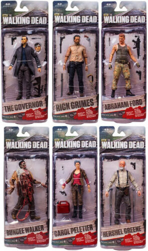 Authentic Walking Dead TV Series 6 Action Figures