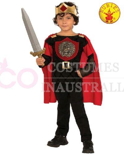 Boys Little Knight Costume Kids King Arthur Child Medieval Book Week Uniform