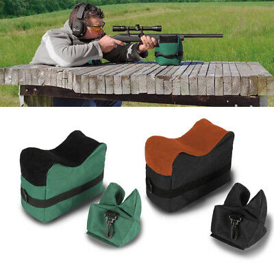 2 Colors Shooting Rest Bag Set Front /& Rear Rifle Target Hunting Bench Stand