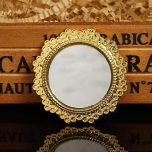 1:12 Miniatur Vintage Spiegel Metall Für Puppenhaus Puppenstuben & -häuser