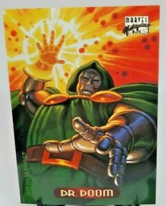 1994 Marvel Masterpieces Trading Cards #31 Dr. Doom - Great Condition!