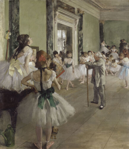 Edgar Degas The Ballet Class Giclee Canvas Print Paintings Poster Reproduction C