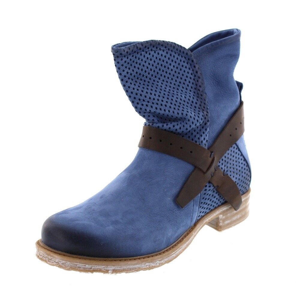 MACA Kitzbühel Damen - Stiefelette 2232 - Blau
