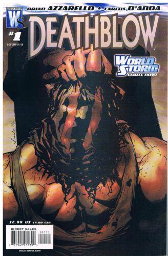 No.1-4 Vol.2 2006-2007 Brian Azzarello Deathblow