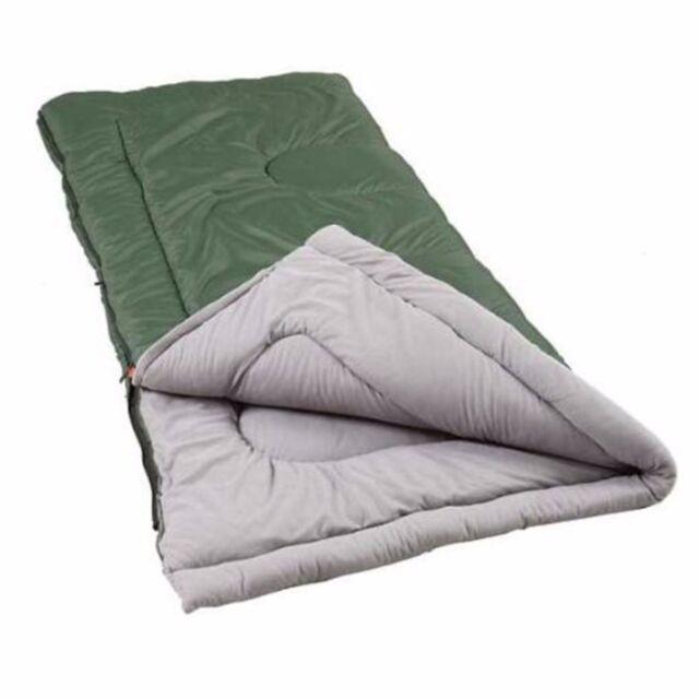 Coleman Alabaster King Size 39 X79 Sleeping Bag For Camping