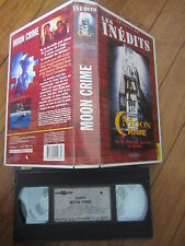 Moon Crime de Bill Crain avec David Carradine, VHS, Thriller, RARE INEDIT DVD!!