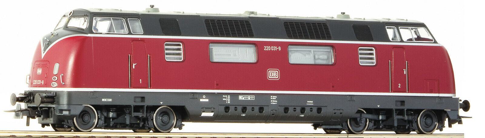 Per Marklin ROCO 58680 BR 220 (v200) DB DB DB EP IV NUOVO OVP a0830a
