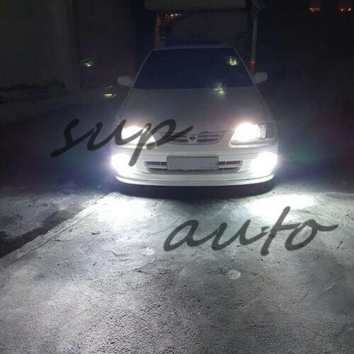 2X H11 H8 H9 H16 Super Bright 6000K Super White 55W CREE LED Bulb Kit Fog Light