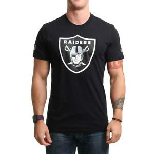 9a95bc6a New Era NFL Raiders Tee Black New Era Men's Clothing T-Shirts | eBay