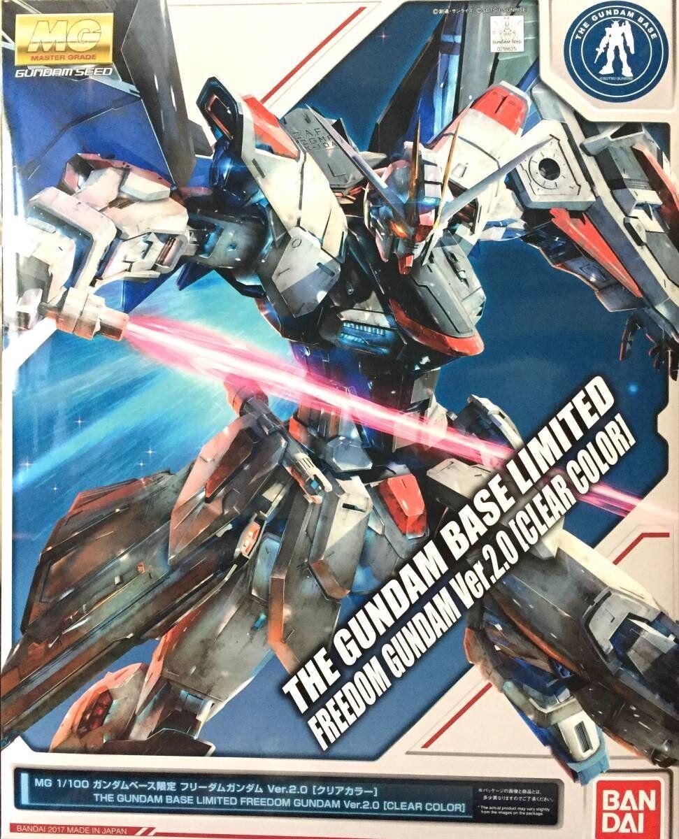 MG Gundam Freedom Gundam ver.2.0 Clear color Model Kit