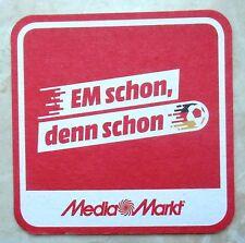 2 Bierdeckel Media Markt EM 2016