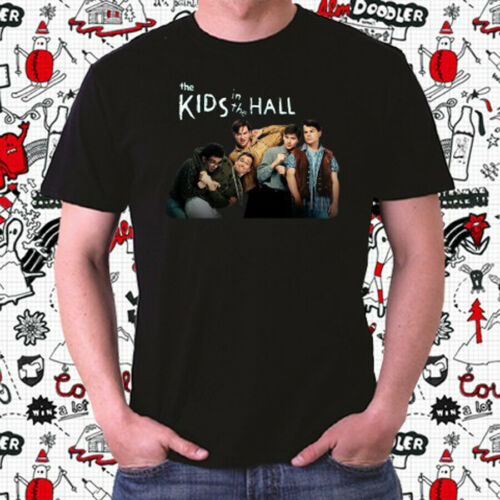 The Kids in The Hall Tv Show Logo Men/'s Black T-Shirt Size S to 3XL