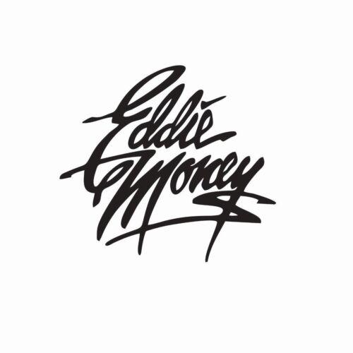 Eddie Money Music Band Vinyl Die Cut Car Decal Sticker-FREE SHIPPING