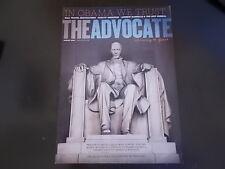 Barrack Obama, Andrew Rannells - The Advocate Magazine 2012
