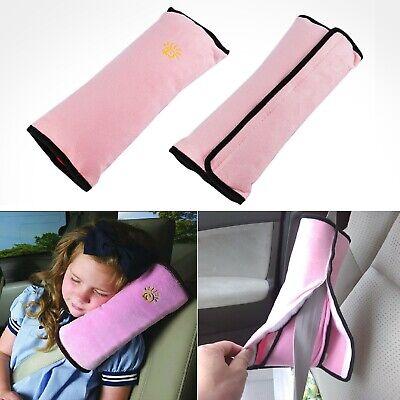 2x Gurtpolster Gurtschutz Kopfkissen Gurtschoner Kind Baby Nackenstütze Autositz