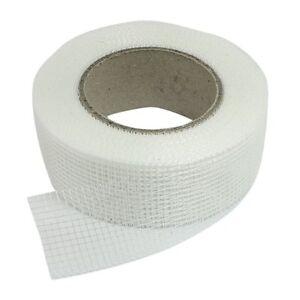 Brand-New-White-Self-Adhesive-Fiberglass-Mesh-Joint-Tape-for-Scrim-amp-Crack-Holes