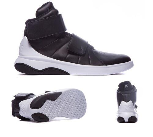 Hi Top Black White Trainers Sneakers Shoes Original Boys Nike Marxman GS