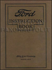 1927 ford model t owners manual 27 owner instruction guide book car rh ebay ie ford model t owners manual model t ford service manual pdf
