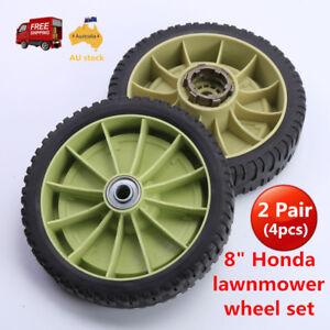 8-034-2x-Front-2x-Rear-Self-Propelled-wheels-for-Honda-Lawnmower-HRU214-HRU216-AU
