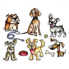 Tim Holtz Sizzix CRAZY DOGS Thinlits Die 661593