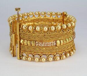 1Pc broad screw open cuff bangle bracelet kara fashion jewelery ... 0431d095fe34