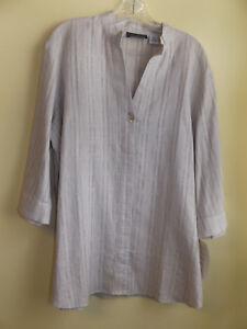 HARVE-BENARD-Ladies-Shirt-Tunic-Size-X-Large-NWT