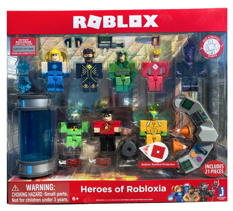 Roblox Wwwtoyscom Roblox 10763 Heroes Of Robloxia Feature Playset For Sale Online Ebay