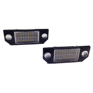 For-Ford-Focus-C-MAX-MK2-2003-2018-24-LED-Number-License-Plate-Light-Lamp-Bulbs