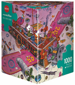 MORDILLO - FLY WITH ME! - Heye Puzzle 29887 - 1000 Teile Pcs.