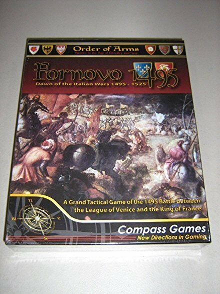 FORNOVO 1495 - DAWN OF THE ITALIAN WARS 1495-1525 - COMPASS GAMES