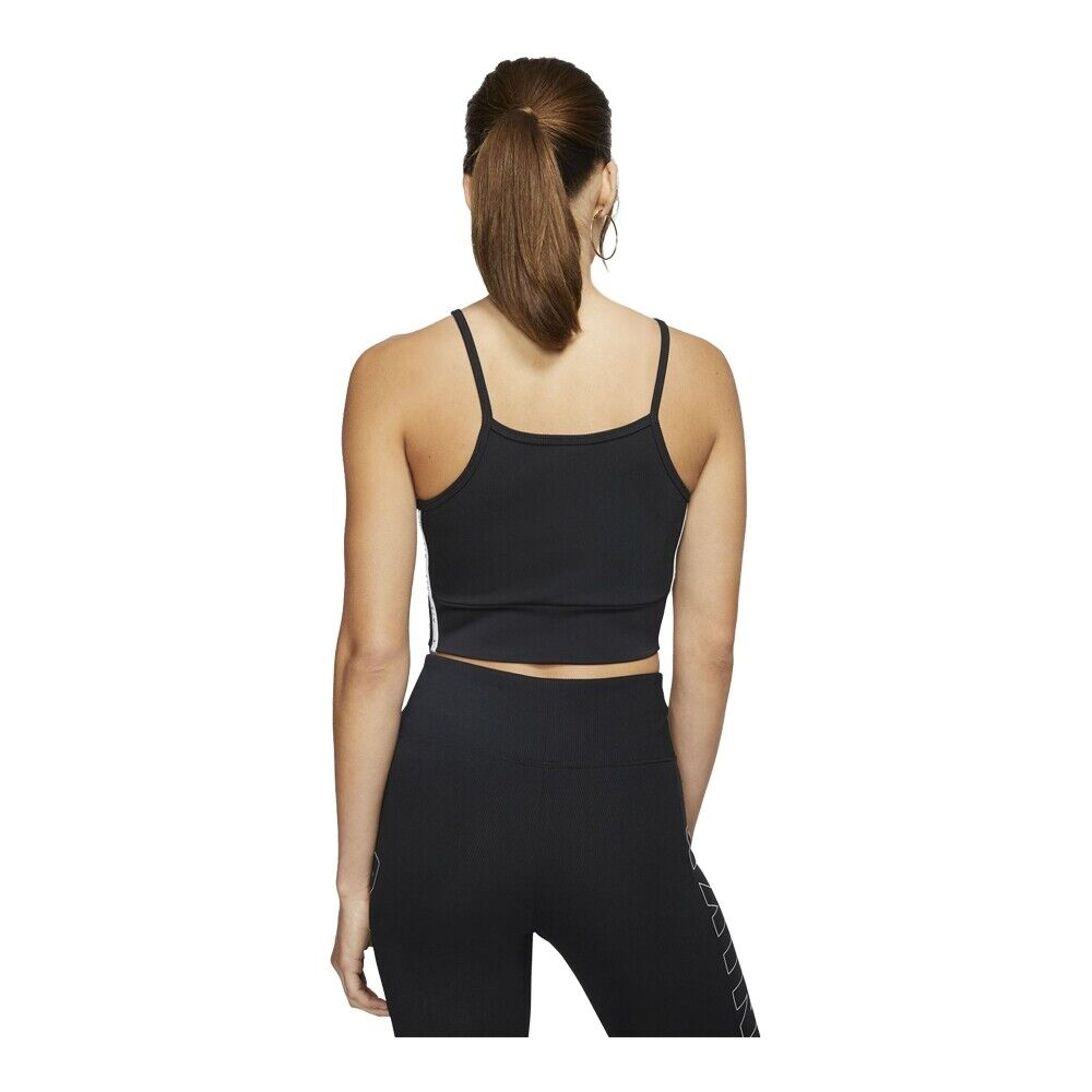 Nike Womens Air Tank Crop Top Vest Tops Air Sleevless T Shirt Gym Workout Vests