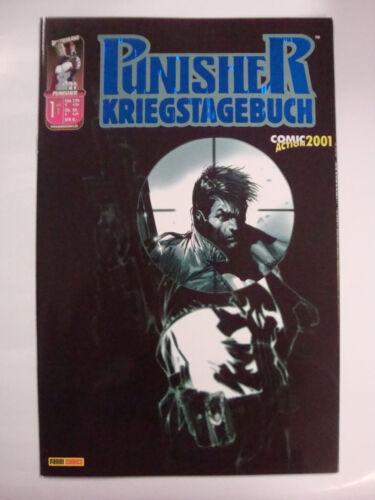 Comic Action 2001 Panini Punisher Kriegstagebuch Heft 1