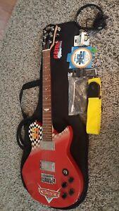 Washburn DISNEY CARS Idol PROTOTYPE 6 string electric guitar RARE
