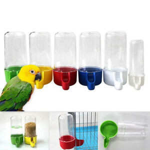 50-200ml-Pet-Bird-Parrot-Food-Water-Feeder-Drinking-Bowl-Bottle-Dispenser