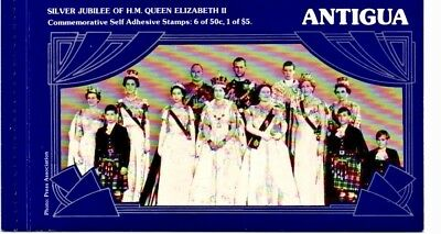 Workmanship Exquisite In Genteel Antigua 1977 Silver Jubilee Booklet