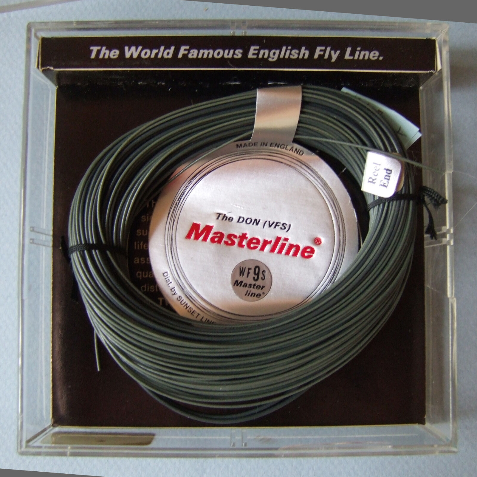 HAL JANSSEN COLLECTION VINTAGE MASTERLINE WF8-9S  THE DON  SUNSET LINE,TWINE CO