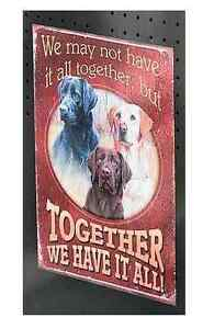 Together We Have It All Magnet, Wild Wings Hunting Dogs #4842482705